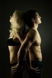 пары сексуальные стоковое фото