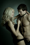 пары сексуальные Стоковые Фотографии RF