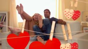 Пары скача на кресло совместно акции видеоматериалы