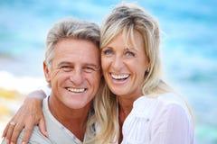 пары счастливые зреют Стоковая Фотография RF