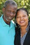 пары счастливые зреют Стоковое фото RF