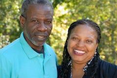 пары счастливые зреют Стоковые Фотографии RF