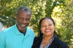 пары счастливые зреют Стоковая Фотография