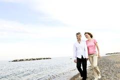 пары счастливые зреют Стоковое Изображение