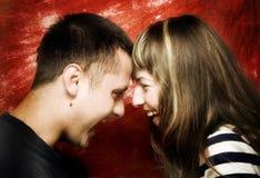 пары счастливые Стоковое Изображение RF