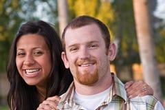 пары счастливые Стоковая Фотография