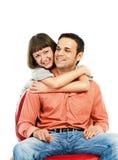 пары счастливые Стоковые Изображения RF