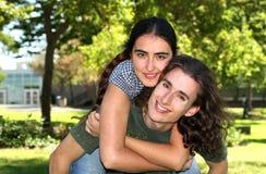 пары счастливые Стоковые Фото