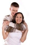 пары счастливые Стоковое фото RF