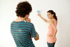 Пары с Swatch цвета Стоковое фото RF