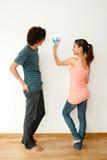 Пары с Swatch цвета Стоковое Изображение RF