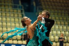 Пары танца, Стоковая Фотография RF