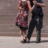 пары танцоров танго Стоковая Фотография RF