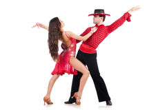 Пары танцоров Стоковые Фото