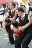 пары танцуя улица Стоковые Фотографии RF