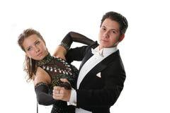 Пары танцы Стоковое Изображение