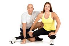 Пары фитнеса Стоковая Фотография RF