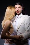 Пары человека и женщины в влюбленности Стоковое Изображение RF