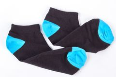 Пары шерстяных носок для мальчика Стоковое Фото