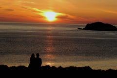 Пары любовника Стоковое Изображение RF