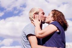 Пары любовников в любящей ориентации Стоковые Изображения RF