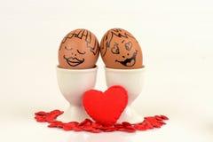 Пары яичек искусств и стороны Стоковое Фото