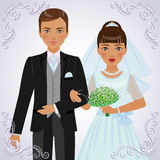 Пары Betrothed Стоковое Изображение