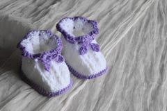 Пары bootees для newborn Стоковые Изображения RF