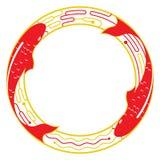 Пары koi карпа на deisgn графика воды бесплатная иллюстрация