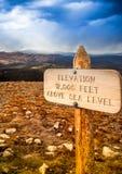 Парящие высоты Стоковая Фотография RF