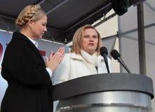 Парламентские выборы в Украине Стоковая Фотография RF