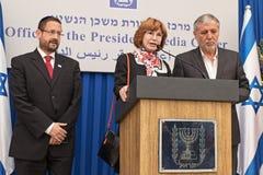 Парламентские выборы 2015 Израиля Стоковое фото RF