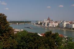 парламент Венгрии Стоковое фото RF