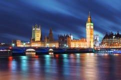 Парламент Великобритании - большой ben, Англия, Великобритания стоковое изображение rf