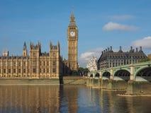 Парламент Великобритании в Лондоне стоковые изображения