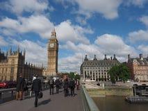 Парламент Великобритании в Лондоне Стоковое Изображение