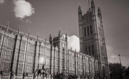 Парламент Великобритании и Ричард первое Стоковые Изображения