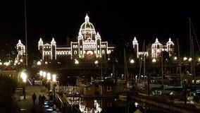 Парламент Виктория Стоковые Изображения