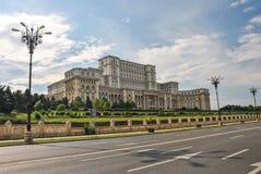 парламент дворца bucharest Стоковое Изображение RF