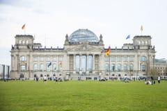 Парламент в Берлине Стоковое Изображение