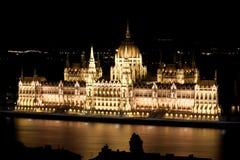 Парламент в Будапеште Стоковые Изображения