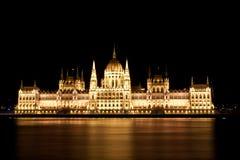 Парламент в Будапеште Стоковая Фотография RF