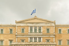 Парламент Греции в Sintagma Афинах Стоковое фото RF