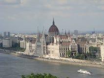 парламент здания budapest Стоковое фото RF
