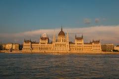 парламент здания budapest Стоковое Фото