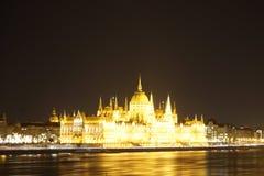 парламент здания budapest стоковое изображение