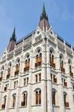 парламент здания budapest Стоковое Изображение RF