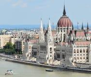 парламент здания budapest Стоковые Изображения RF