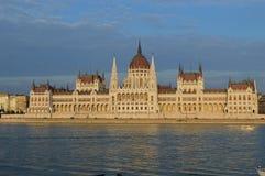 парламент здания budapest Стоковые Изображения