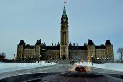парламент Канады Стоковые Фото
